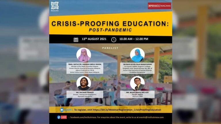 [PEMACU-Wacana]-Crisis-Proofing-Education-Post-Pandemic-Single-Post-v1